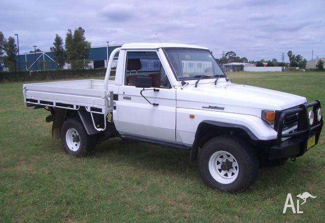 Toyota Landcruiser Ute Hzj75rp 1996 For Sale In Penrith