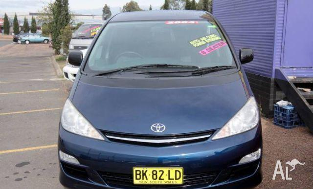 toyota tarago glx acr30r 2004 for sale in minchinbury new south wales classified. Black Bedroom Furniture Sets. Home Design Ideas