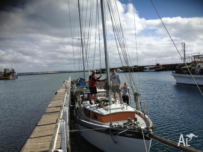 Traditional Ferro Cruising Yacht-Gaff Rigged for Sale in