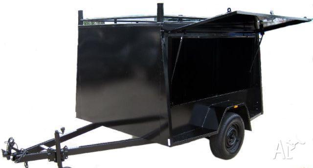 Trailer Box Trailers Fully Enclosed Van Trailer Custon