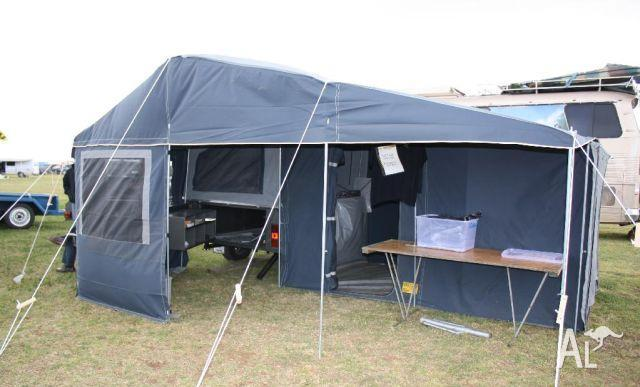 Perfect Pacific Australia Off Road Camper Trailer For Sale In WINGFIELD South