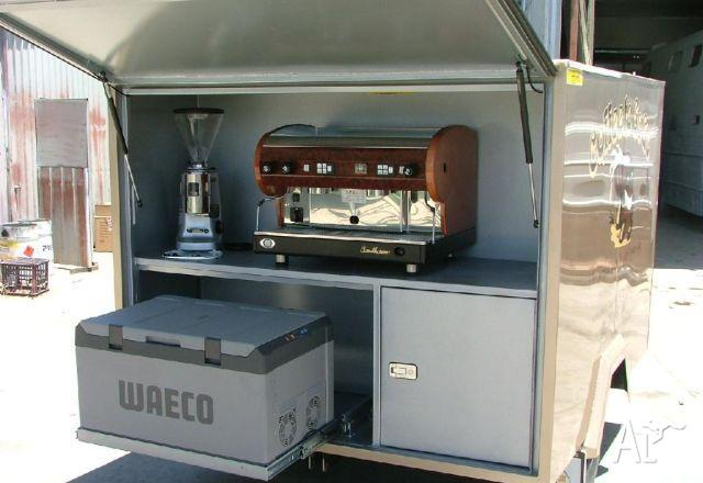 Trailer Built Tough Trailer Custom Coffee Van Custom