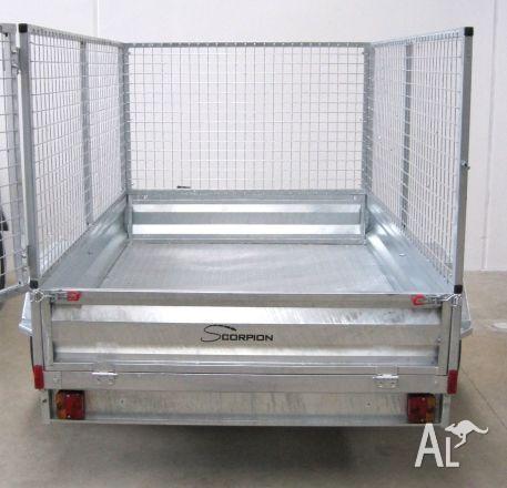 Trailer cage 7x5 . galvanised