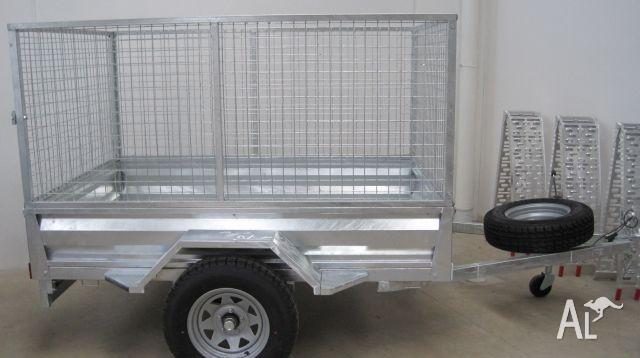 Trailer cage 7x5 . galvanised 2011