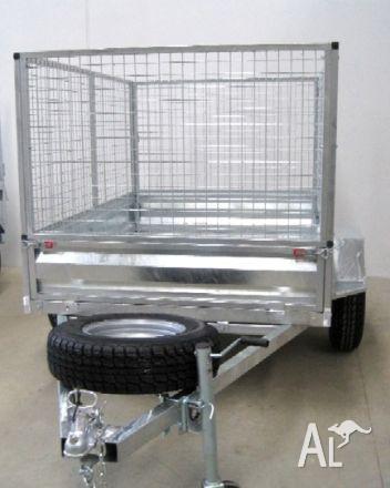 Trailer cage 7x5 . galvanised 2011