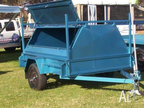 TRAILER TOWPAX WITH TRADESMANS TOP
