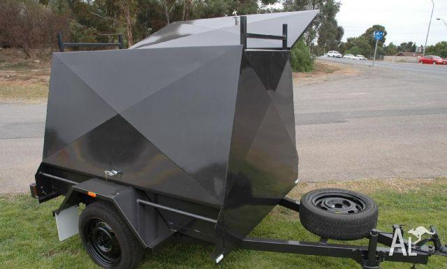 Trailers Amp Trailer Tradesman 6x4 Canopy Builders For Sale