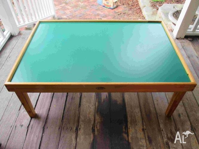 Train Play Table Jolly Solid Timber For Sale In