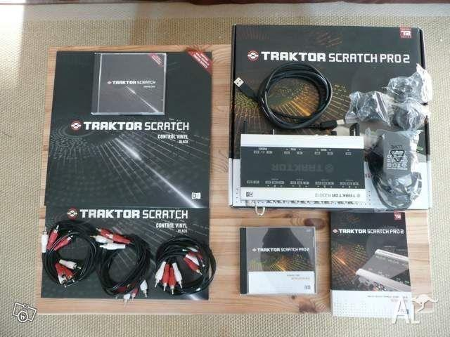Traktor Scratch Pro DJ Software & Interface Unit for Sale in