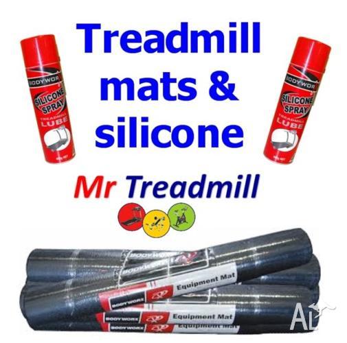 Treadmill Lubricant Australia: TREADMILL SILICONE SPRAY & RUNNING MATS