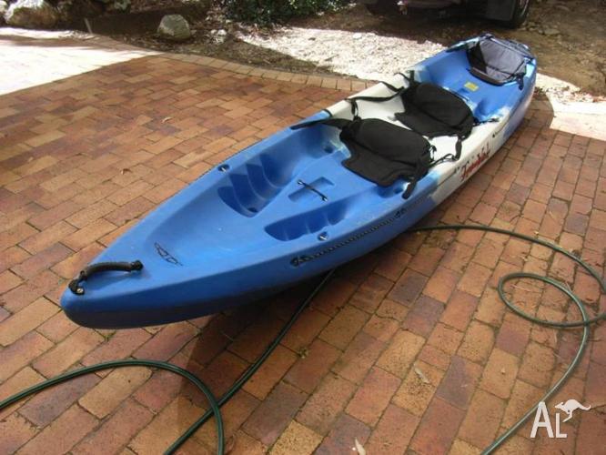 Tri-Yak 3 seat Kayak