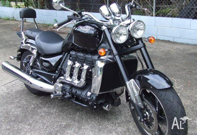 triumph rocket iii roadster my10 2010 for sale in darwin northern territory classified. Black Bedroom Furniture Sets. Home Design Ideas