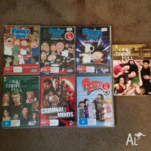TV Series Packs; family guy, american dad, one tree
