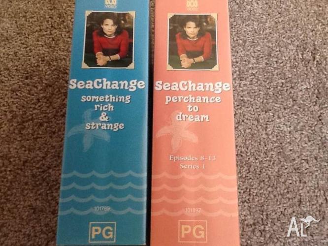 TV Series Seachange Episodes 1-7 & 8-13 (4 Videos)