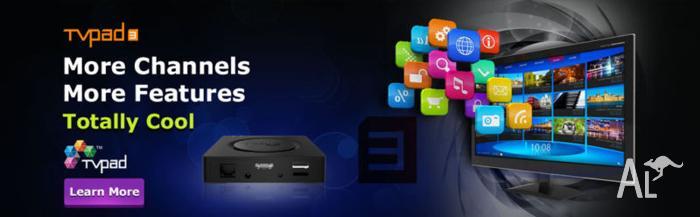 TVPad 3 Smart TV Streaming Media Player