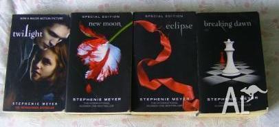 Twilight Complete Set Books