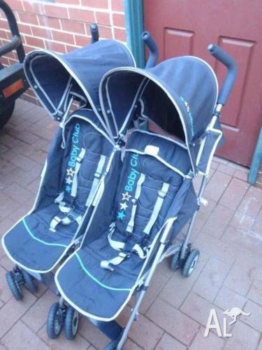 Twin Pram for sale