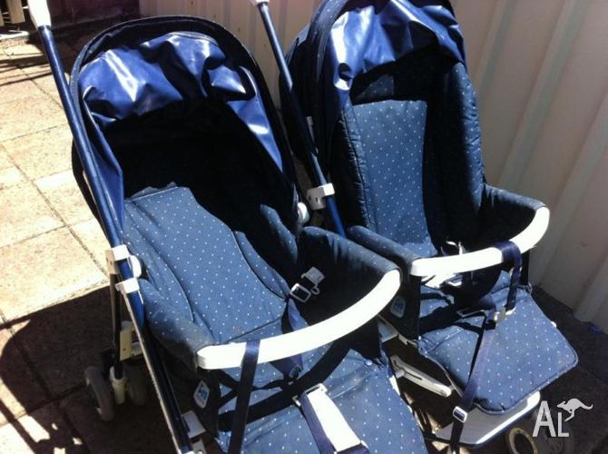 Twin Pram Stroller Amico Peg Perego For Sale In
