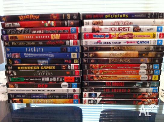 TWO FREE BLURAY DVD WITH PURCHASE 30 dvds good movies