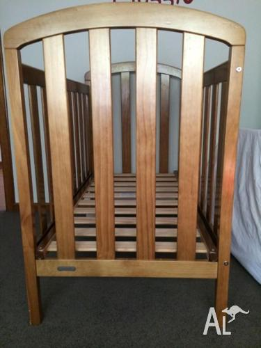 Two Grotime cots in teak