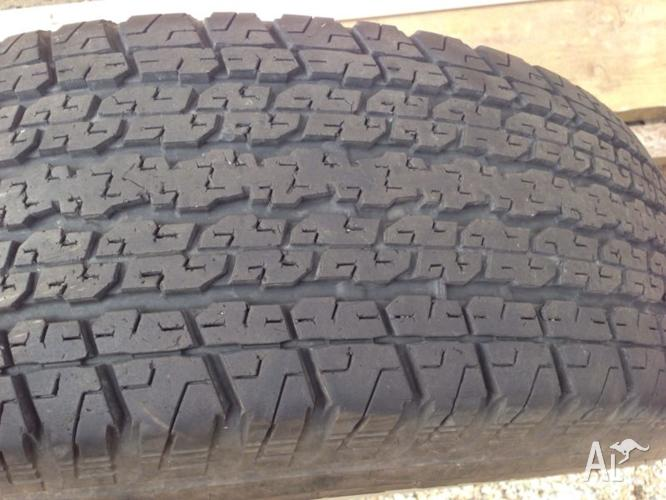 Tyres 255/65R17
