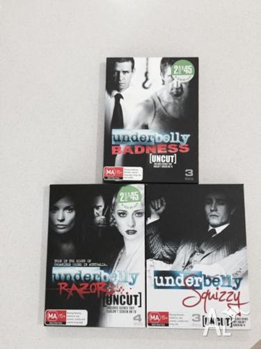 Underbelly all 3 for $25