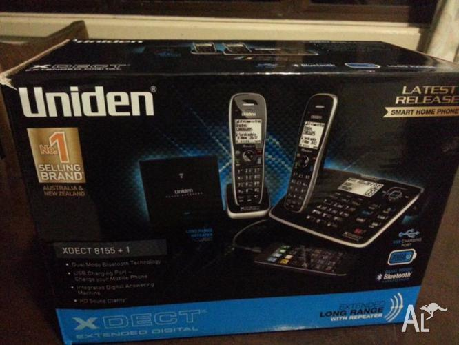 Uniden XDECT 8155 + 1 Bluetooth Home Phone