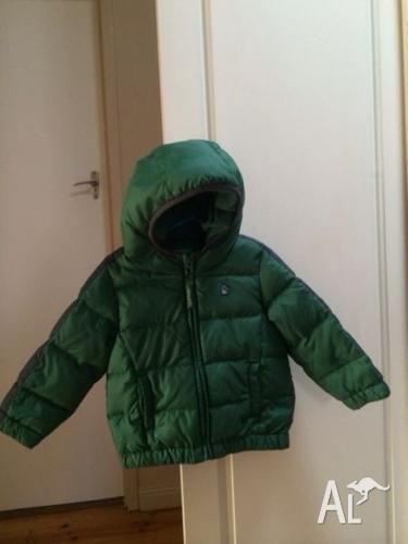 United colors of Benetton PUFFA Jacket. Size 18M