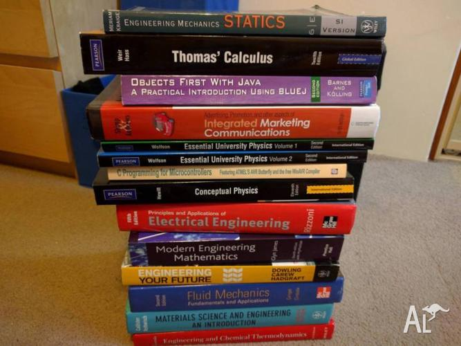 University Textbooks (Engineering, Physics and