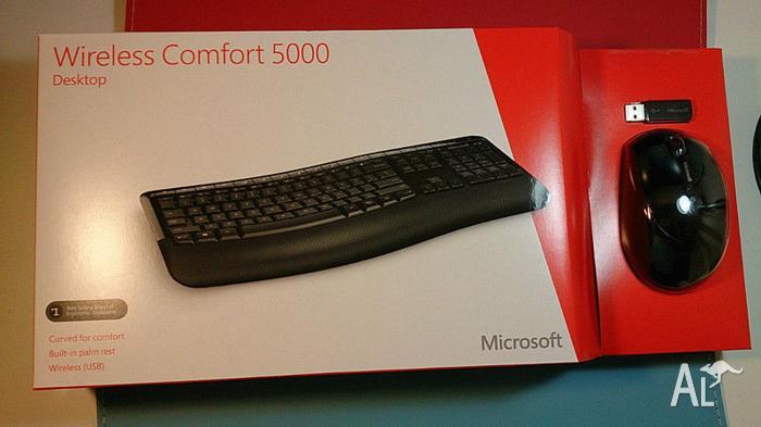 Unwanted gift,Microsoft Wireless Comfort Desktop 5000