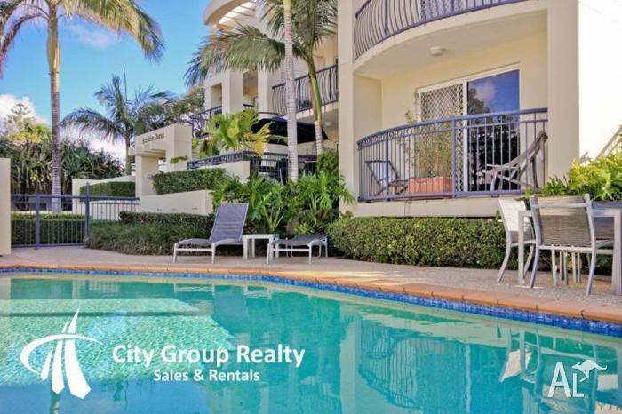 Upmarket Beachside Apartment For Sale In Mermaid Beach