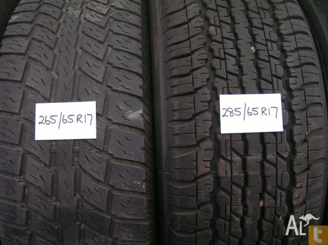 Used 4X4 Tyres