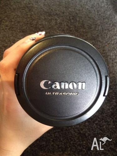 USED CANON EF 24-70mm F2.8L USM w/ free HOYA UV filter