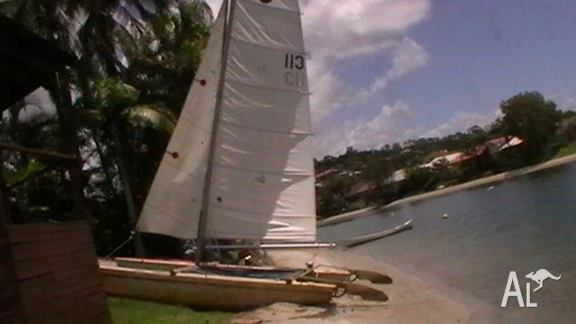 used sail boat