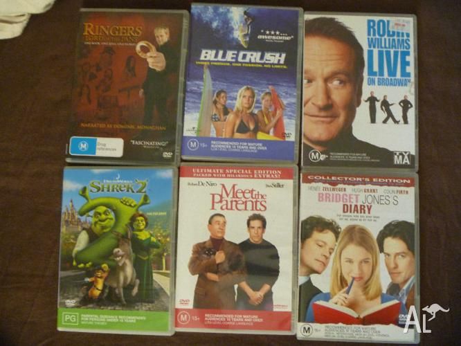 Various DVDs $2 each or make an offer for all