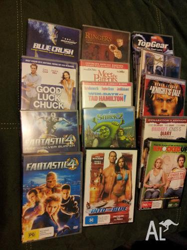 Various DVDs $5 Each or $40 the lot
