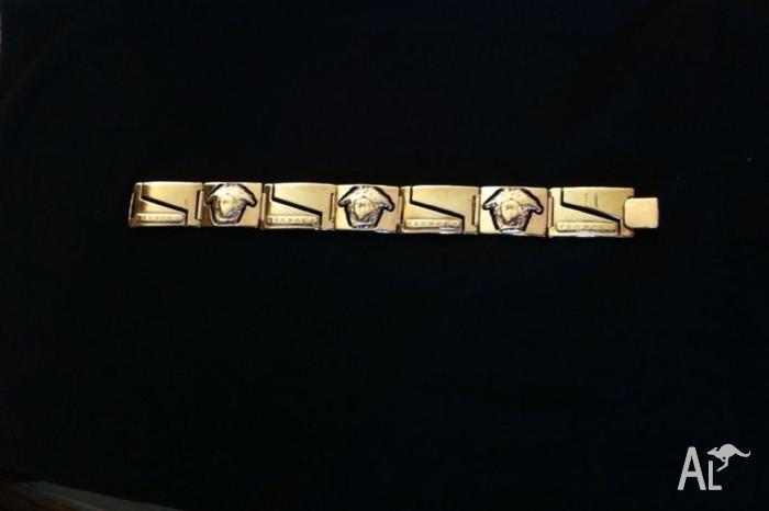 Versace Men's Gold Bracelet