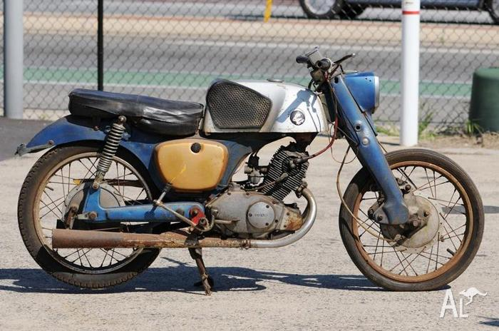 Very Rare Honda CB92 for Sale in BASKERVILLE, Western ...