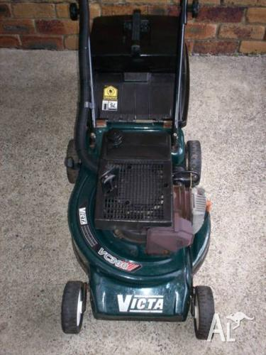 VICTA 2 STROKE LAWN MOWER.SERVICED,RELIABLE