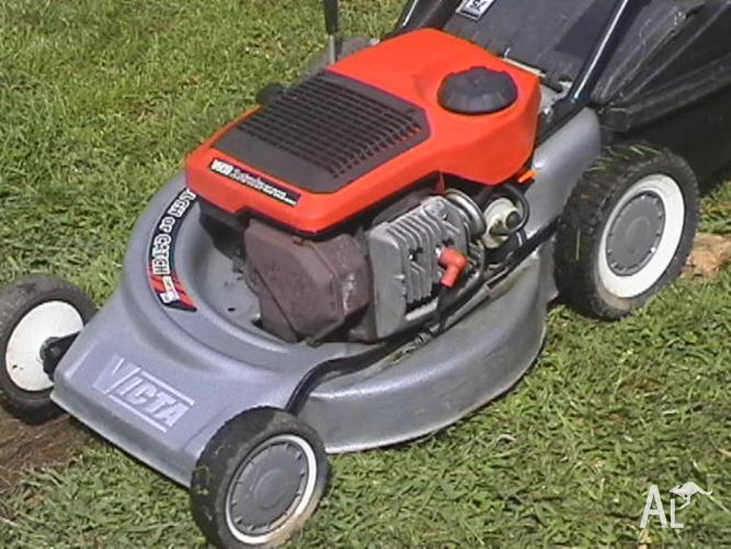 Victa Mower and Catcher-Near New Cond-3 Month