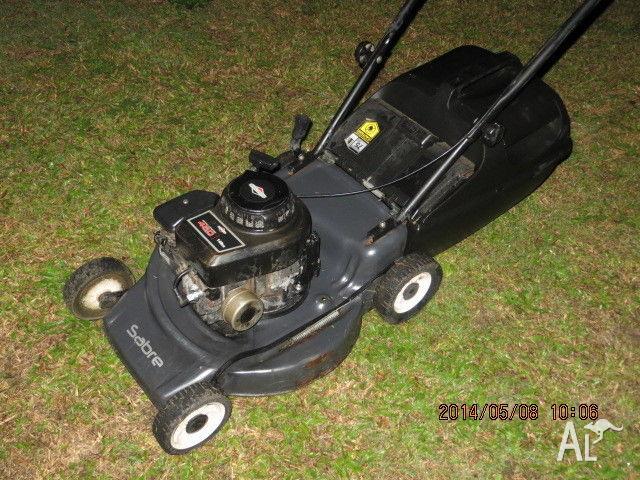victa sabre lawn mower manual