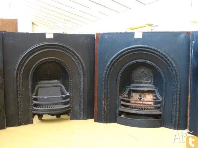 Victorian Original Cast Iron Fire Grates