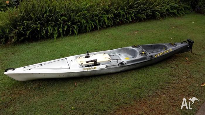Viking profish 45 offshore fishing kayak for sale in for Offshore kayak fishing