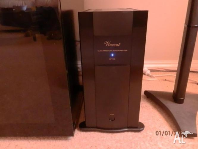 Vincent SP998 300W @ 8 Ohmn Mono Power Amplifier