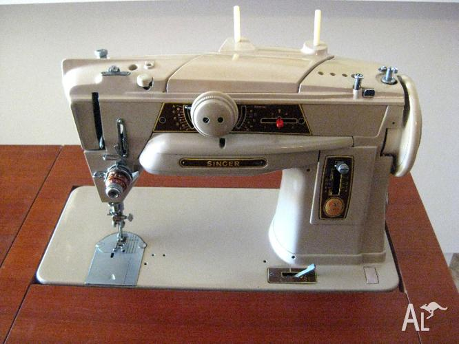 Vintage Sewing Machine Classifieds Buy Sell Vintage Sewing Beauteous Singer Sewing Machine 1950 In Cabinet