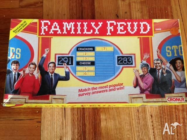 Vintage Family Feud Board Game