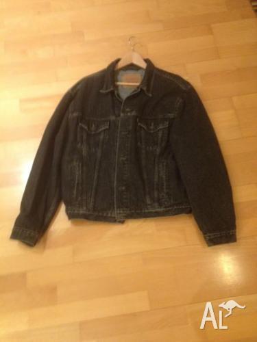 Vintage Levis Denim Jacket Mens Large