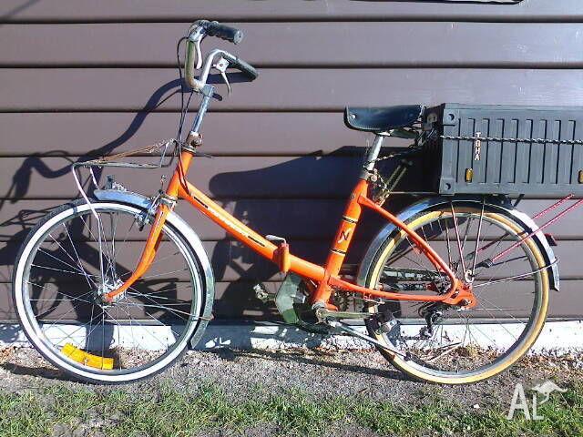 vintage peugeot folding bike for sale in apsley, tasmania classified