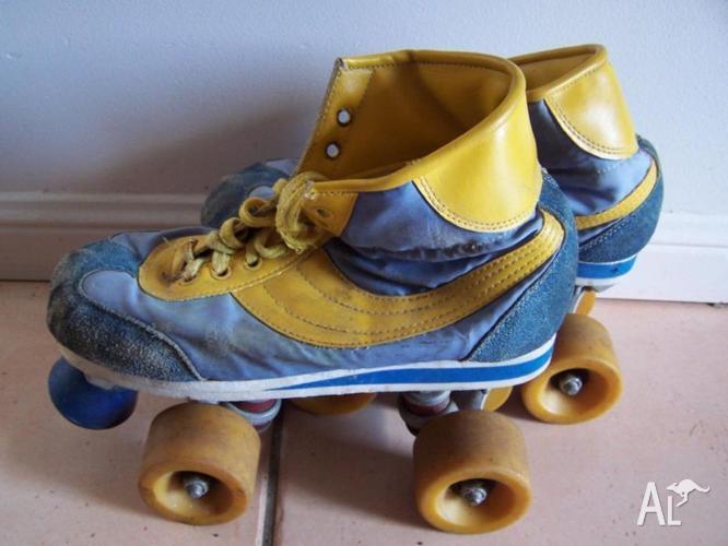 Vintage Roller Skates! 80s Awesome : Working