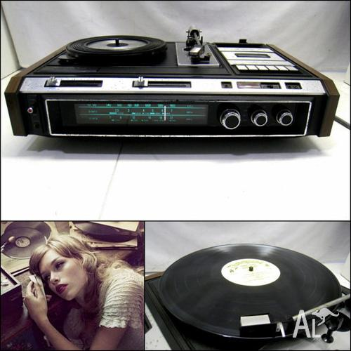 Vintage SANYO DXT GXT 4501H Music Center (No Sound) for Sale in